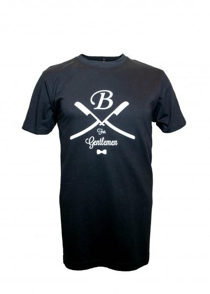 T-Shirt schwarz, Gentlemen