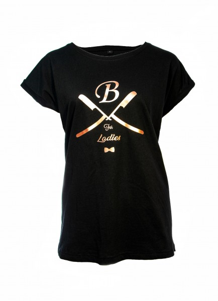 T-Shirt schwarz, Ladies
