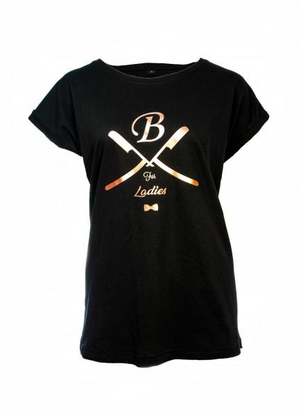 T-Shirt schwarz, Ladies