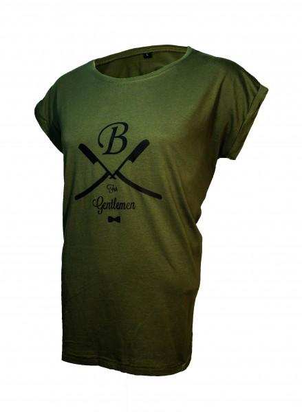 T-Shirt oliv, Gentlemen